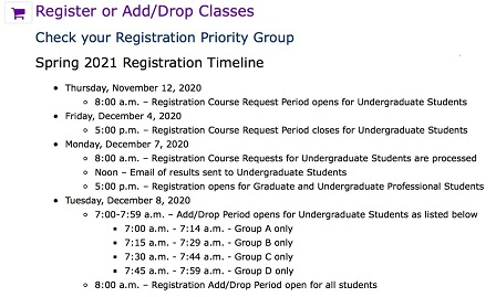 ESTHER Registration Course Request Process: Step by Step